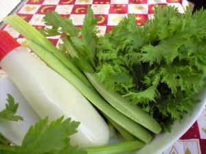 いろいろな野菜につけて